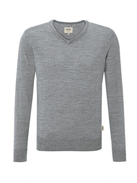 V-Pullover Merino Wool von HAKRO