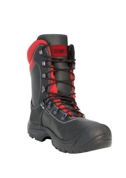 WATEX Schnittschutz-Lederstiefel mit Schnittschutz S3
