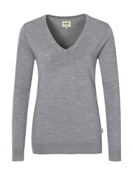 Damen-V-Pullover Merino Wool von HAKRO