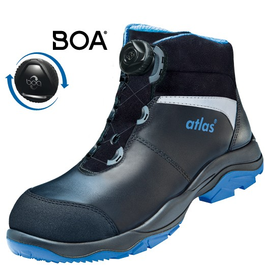 Atlas knöchelhoher Sicherheitsschuh SL 9845 XP Boa | ESD S3