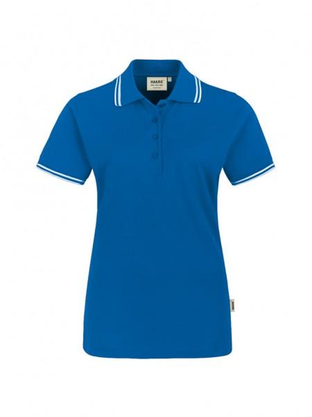 Damen-Poloshirt Twin-Stripe von HAKRO
