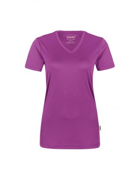 Damen-V-Shirt COOLMAX® von HAKRO